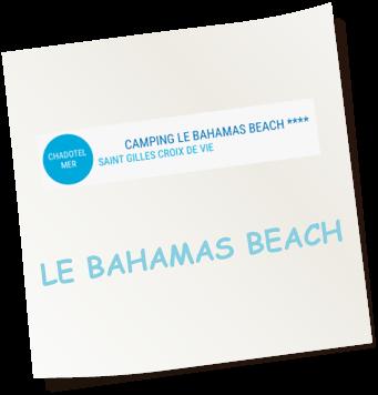 Camping Bahamas Beach