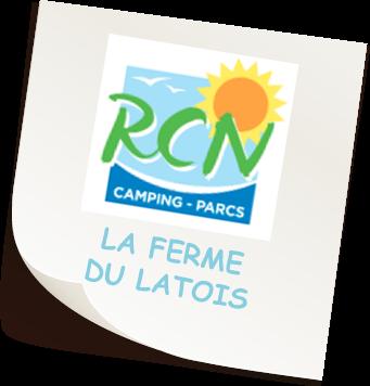 Camping La ferme du Latois