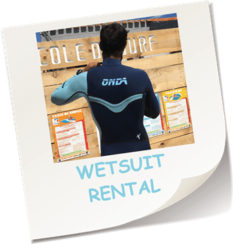 WETSUIT RENTAL